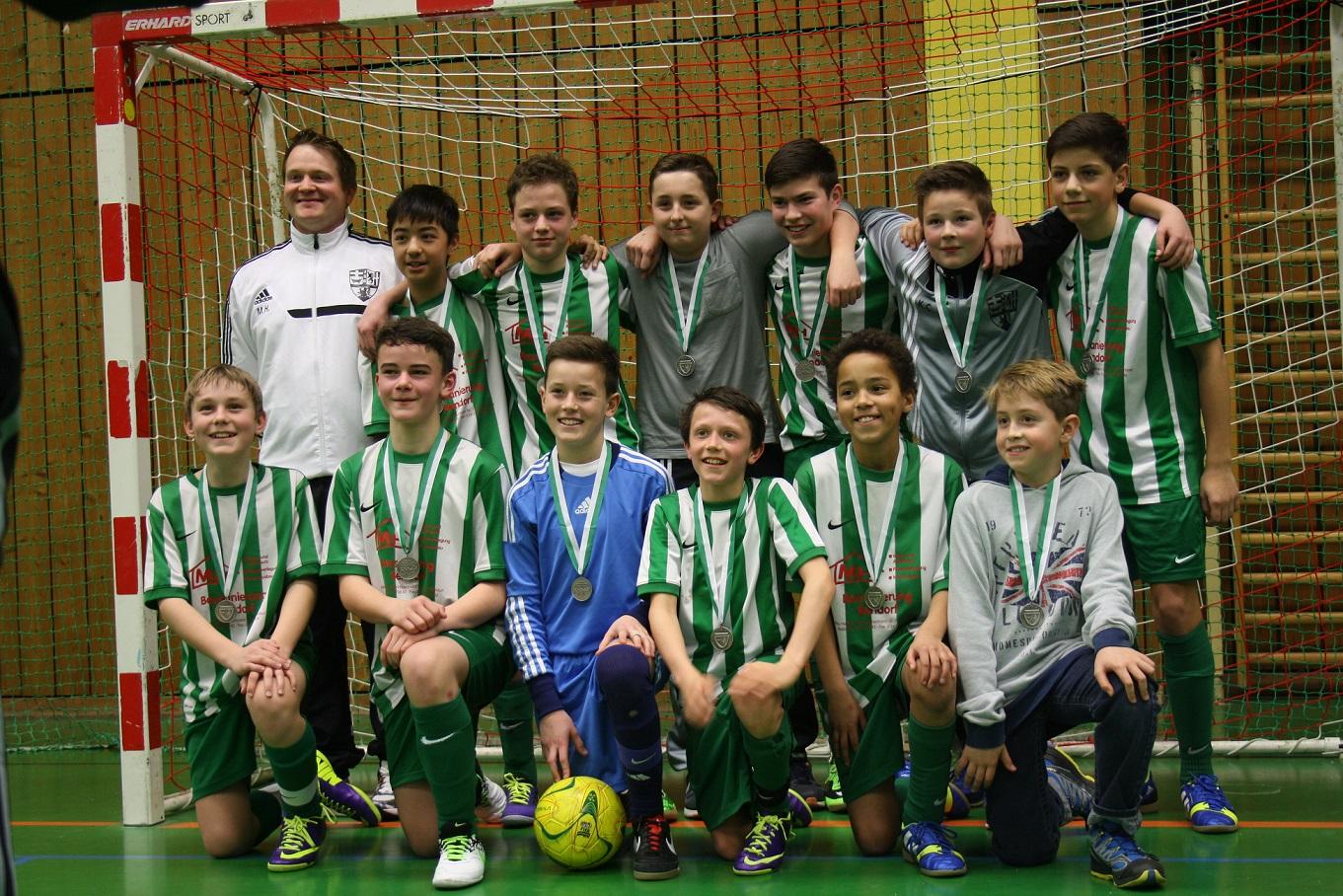 Der neue Futsal Hallenkreismeister 2013/2014 der D-Junioren heißt:   JSG Vallendar !!!