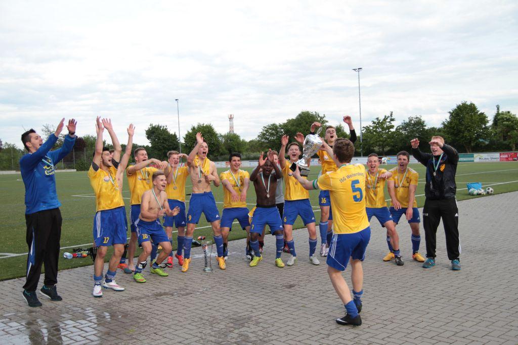 Die B-Jugend der JSG Rheinhöhen Urbar/Weitersburg/Vallendar ist Kreismeister 2015!