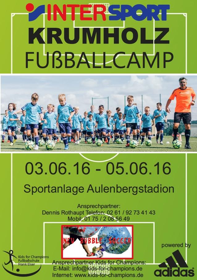 Das INTERSPORT Krumholz Fußballcamp beim FC Urbar