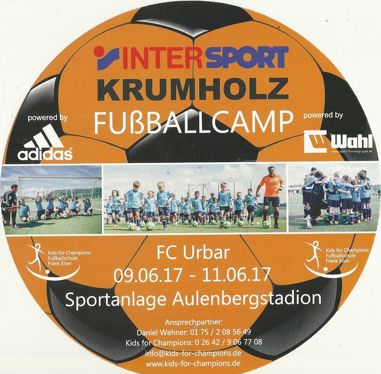 Intersport Krumholz Fußballcamp 2017