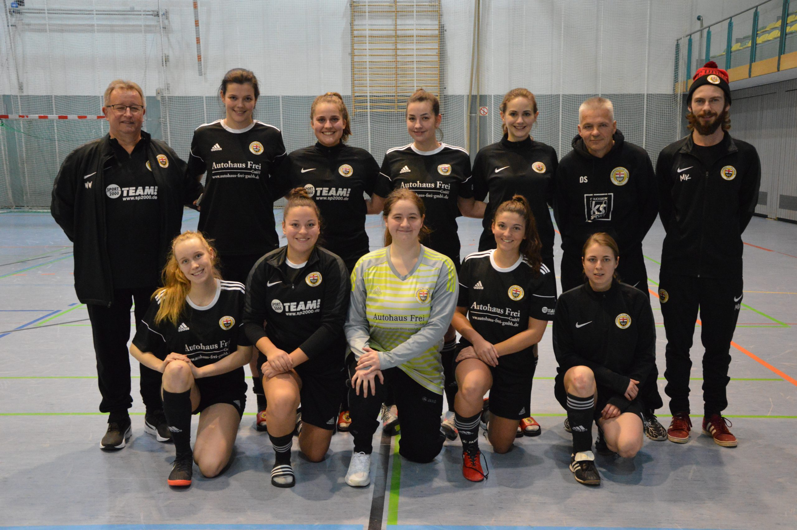 Frauen belegen Platz 5 bei Futsal-HKM